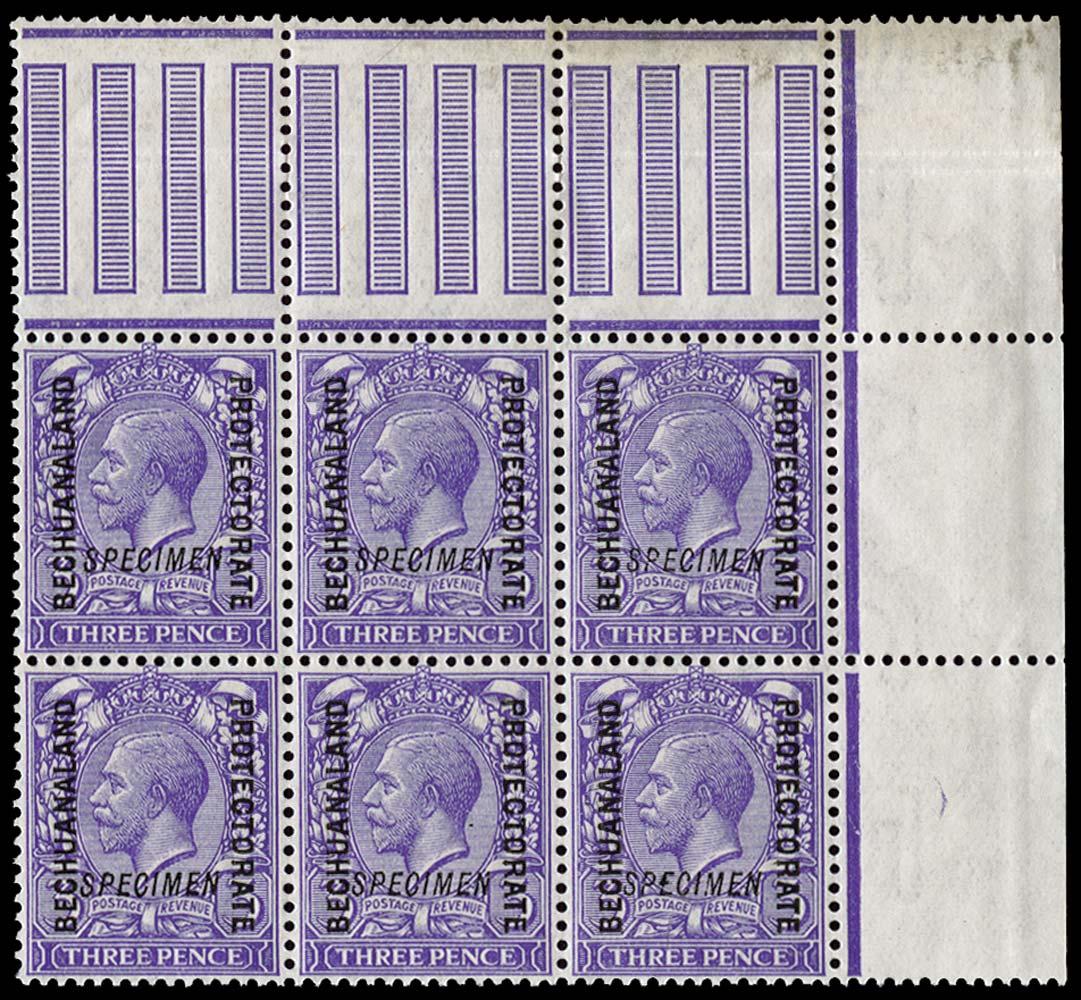 BECHUANALAND 1913  SG79 Specimen