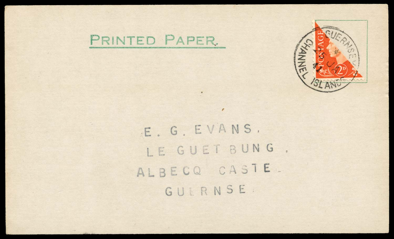 GB 1937  SG465var Cover