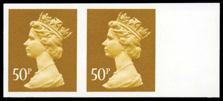 GB 1992  SGX991ab Mint imperf (pair)