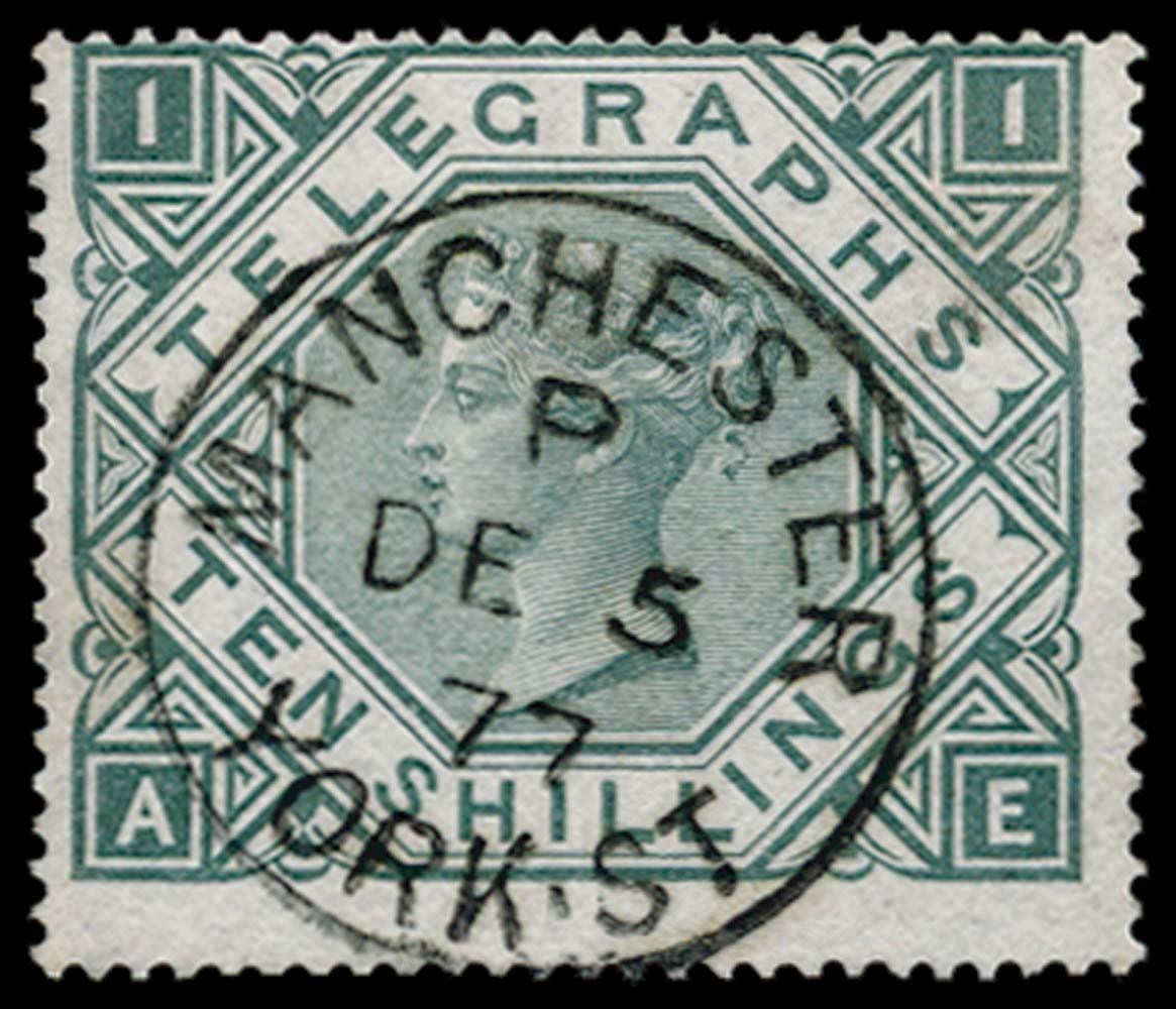 GB 1877  SGT16 Pl.1 Telegraph