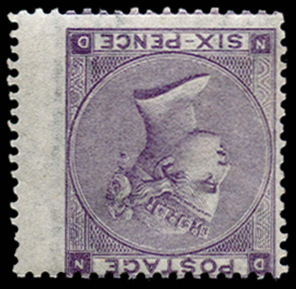 GB 1862  SG84wk Pl.3 Mint