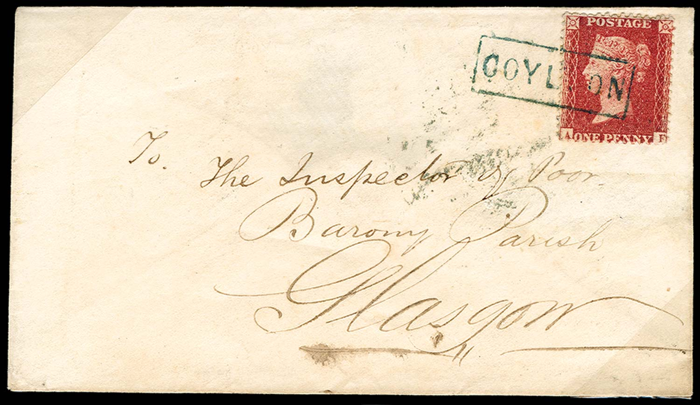 GB 1858  SG40 Pl.47 Cover