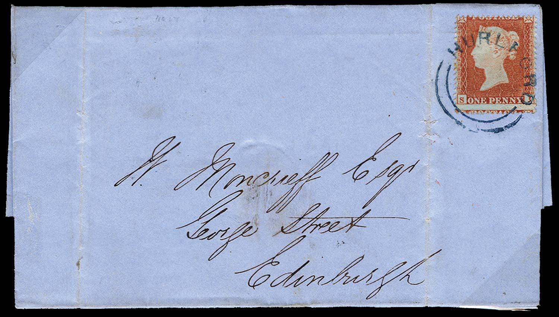 GB 1855  SG17 Pl.193 Cover