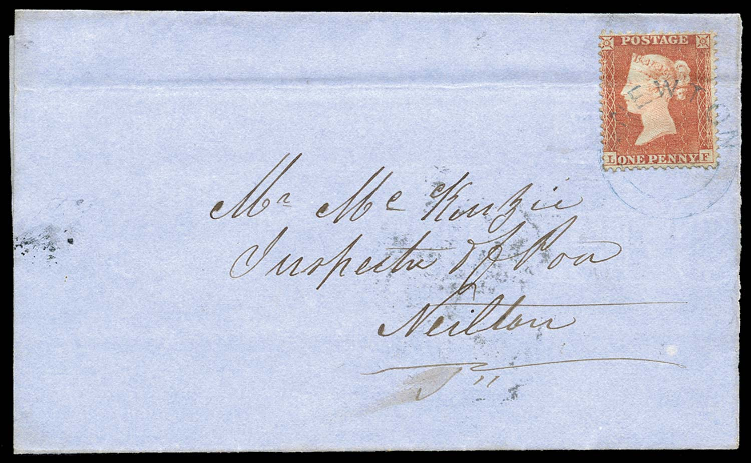 GB 1856  SG29var Pl.1 Cover
