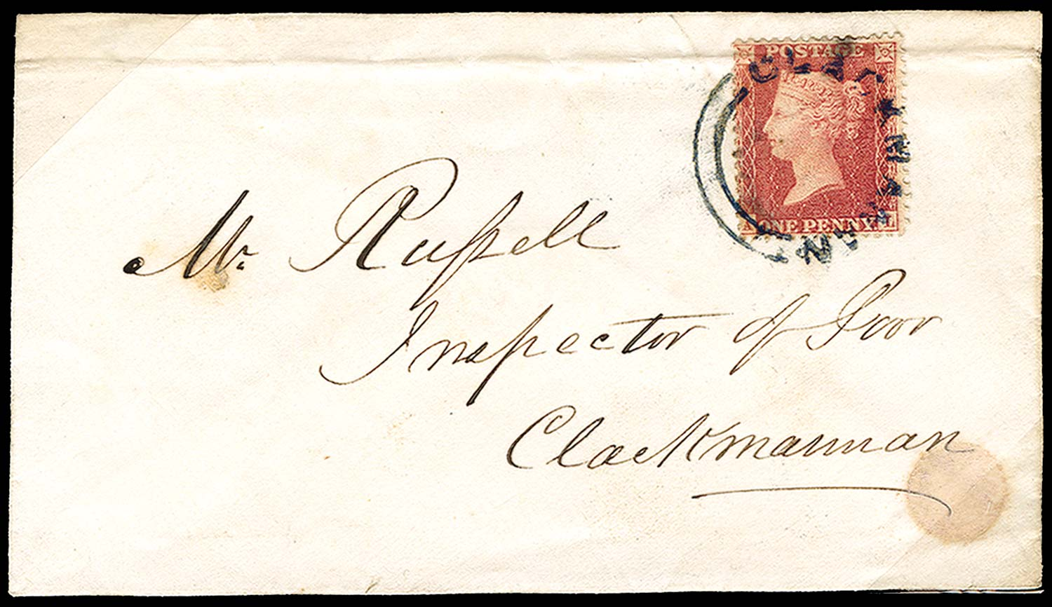 GB 1857  SG40 Pl.36 Cover