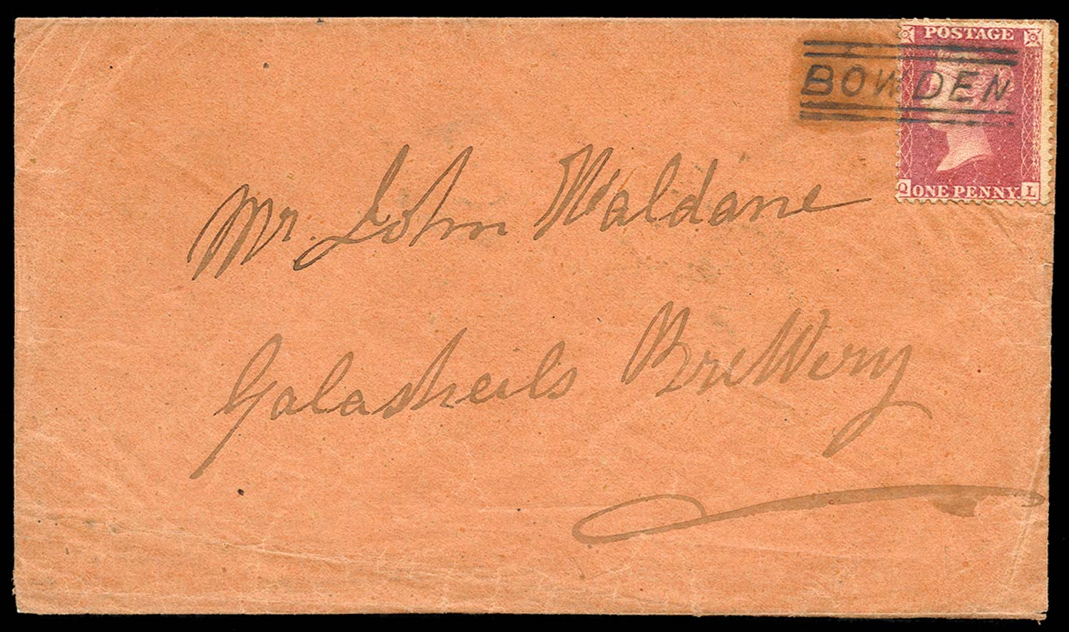 GB 1859  SG40 Pl.49 Cover