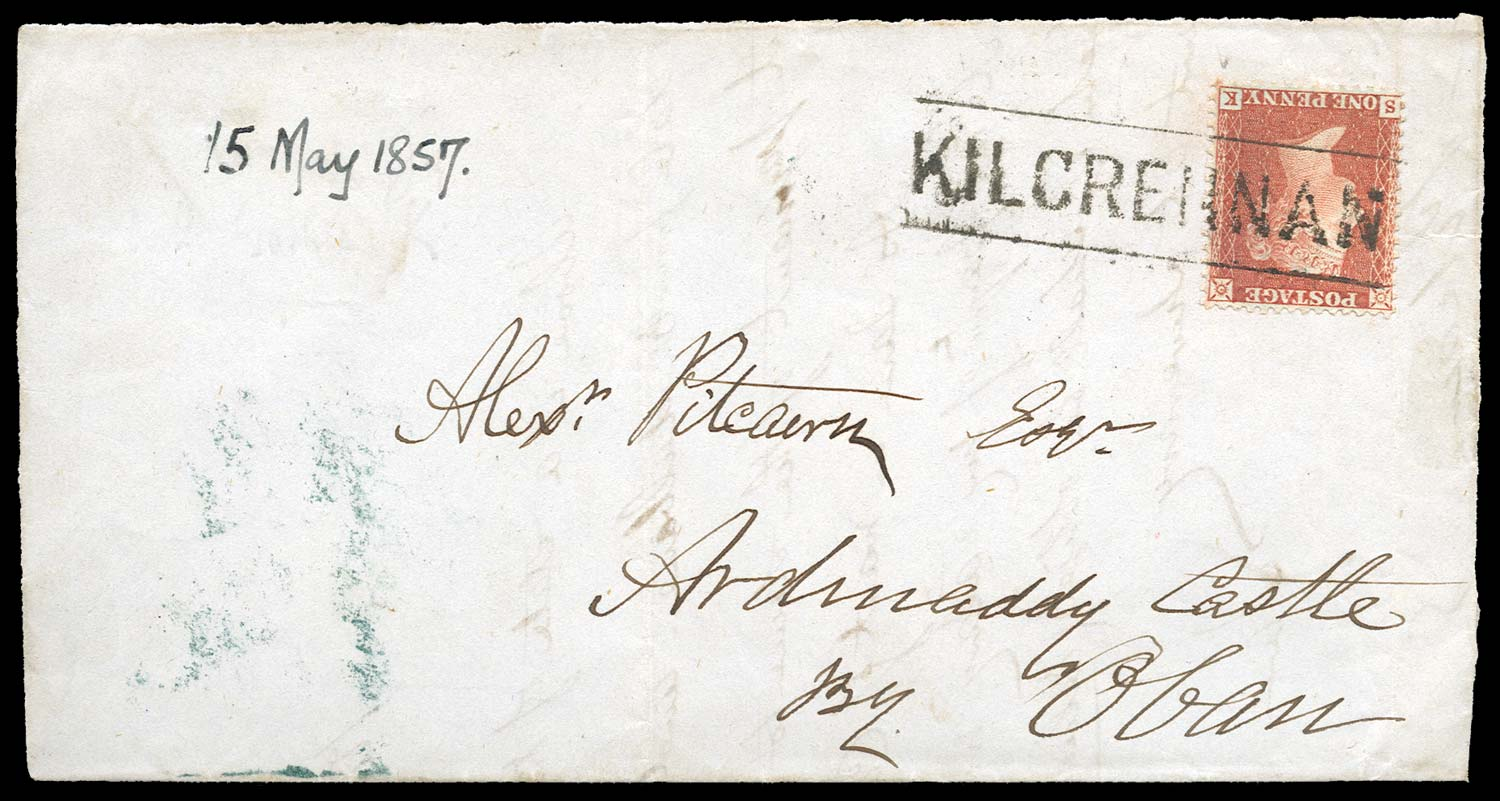 GB 1857  SG29 Pl.31 Cover