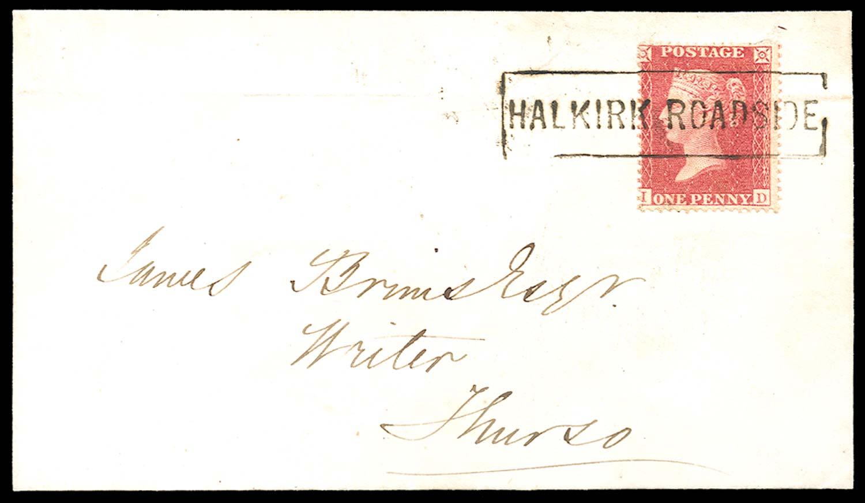 GB 1858  SG36 Pl.44 Cover