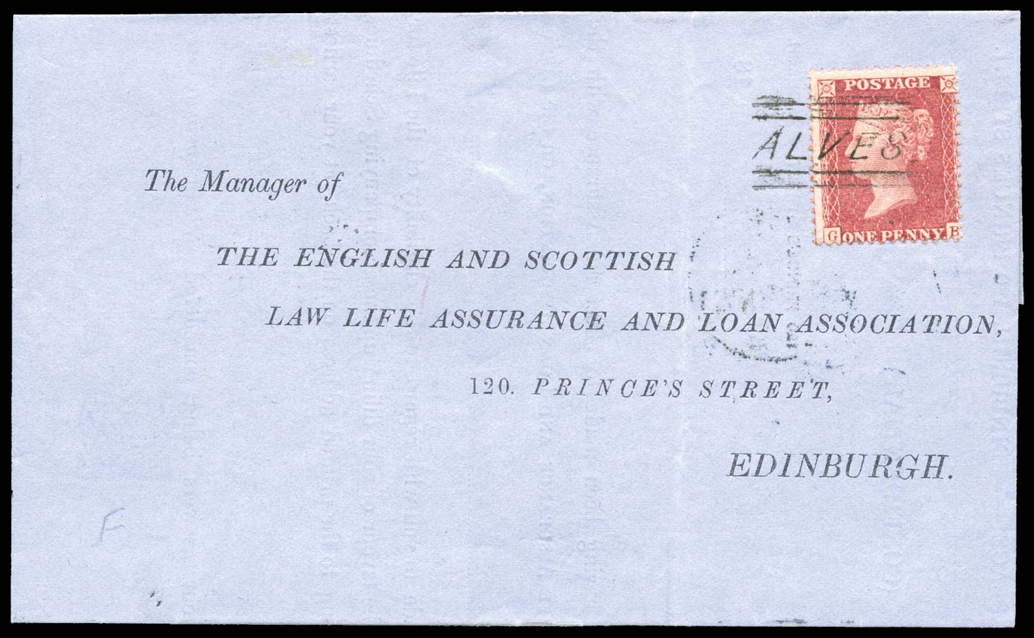 GB 1859  SG40 Pl.34 Cover
