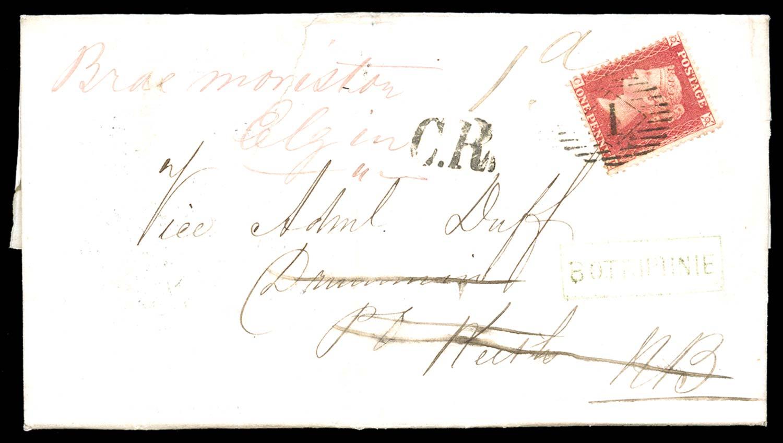GB 1857  SG40 Pl.47 Cover