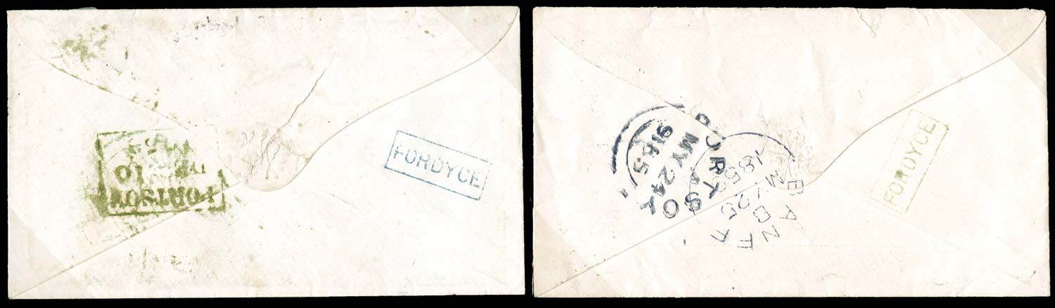 GB 1853  SG8, 40 Cover