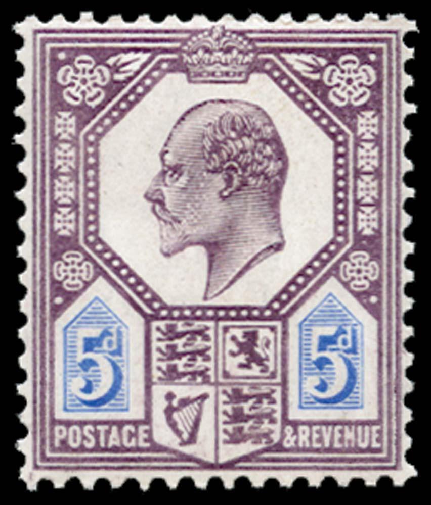 GB 1906  SG243a Mint