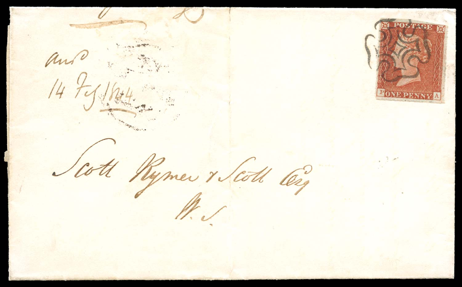 GB 1841  SG8 Pl.33 Cover