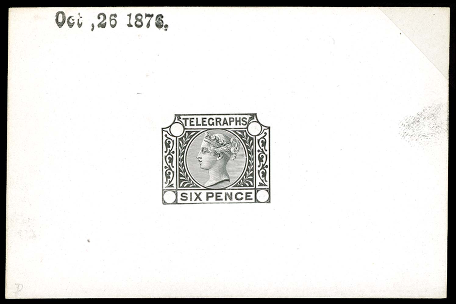 GB 1876  SGT6var Proof
