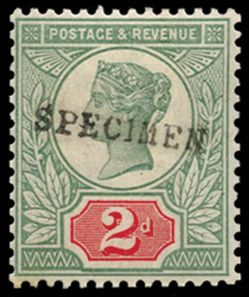 GB 1887  SG200s Specimen