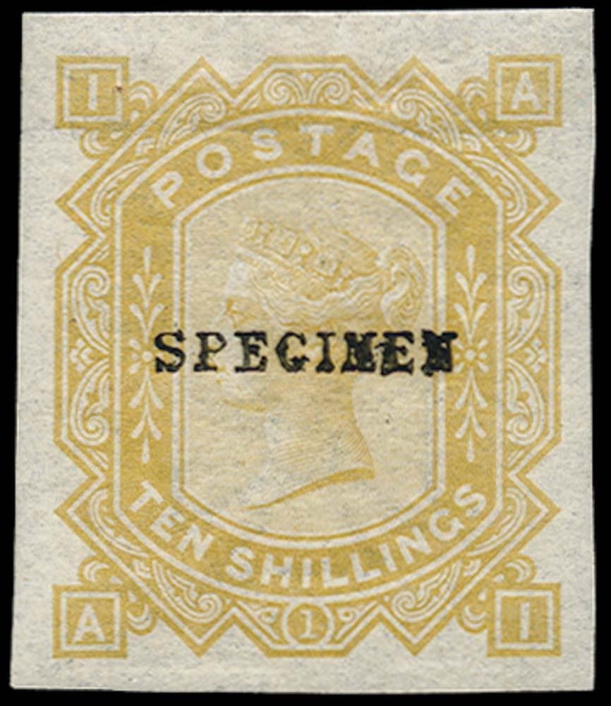 GB 1878  SG128var Specimen