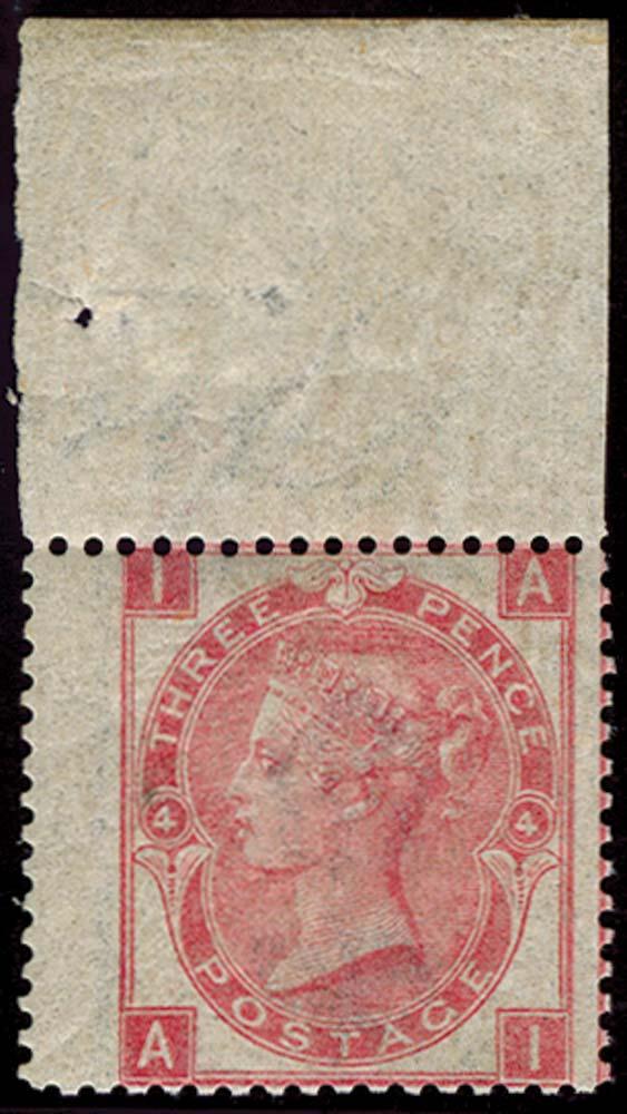 GB 1867  SG103 Pl.4 Mint
