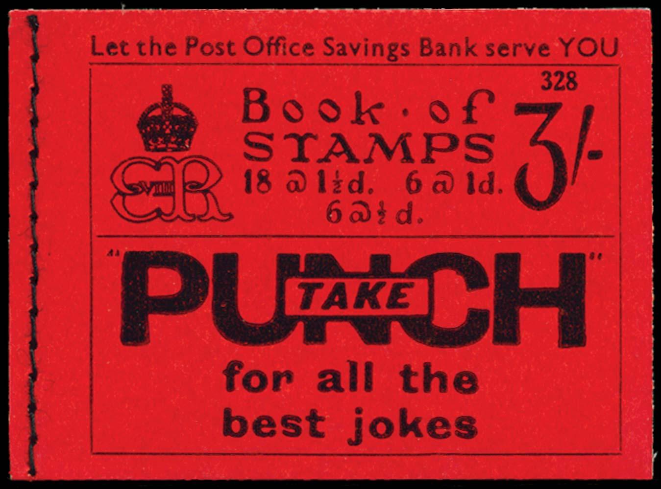 GB 1936  SGBC3 Booklet (Edition 328)