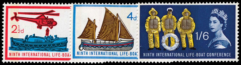 GB 1963  SG639/41p Mint
