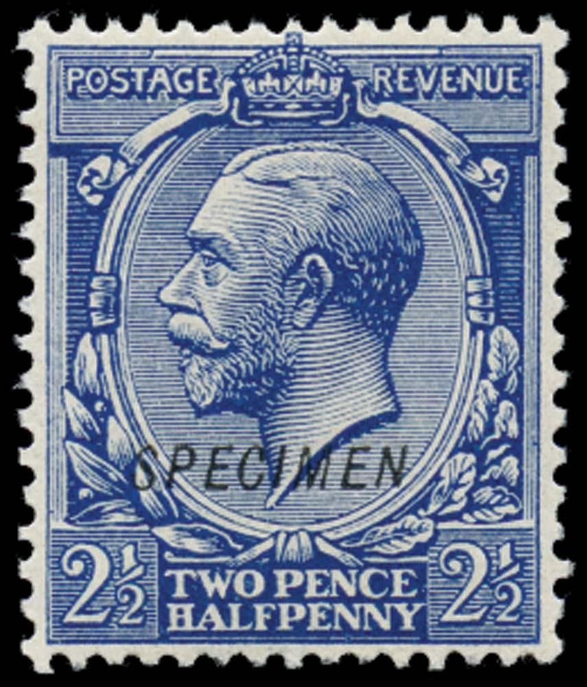 GB 1912  SG372s Specimen