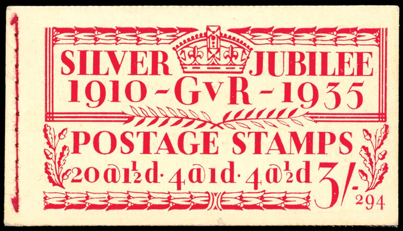 GB 1935  SGBB28 Booklet (Edition 294)