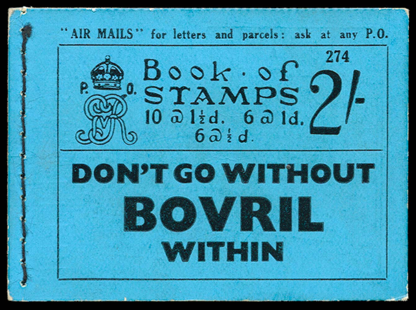 GB 1934  SGBB14 Booklet (Edition 274)