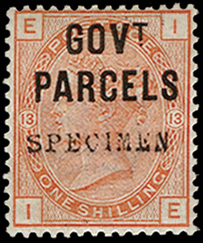 GB 1883  SGO64s Pl.13 Official
