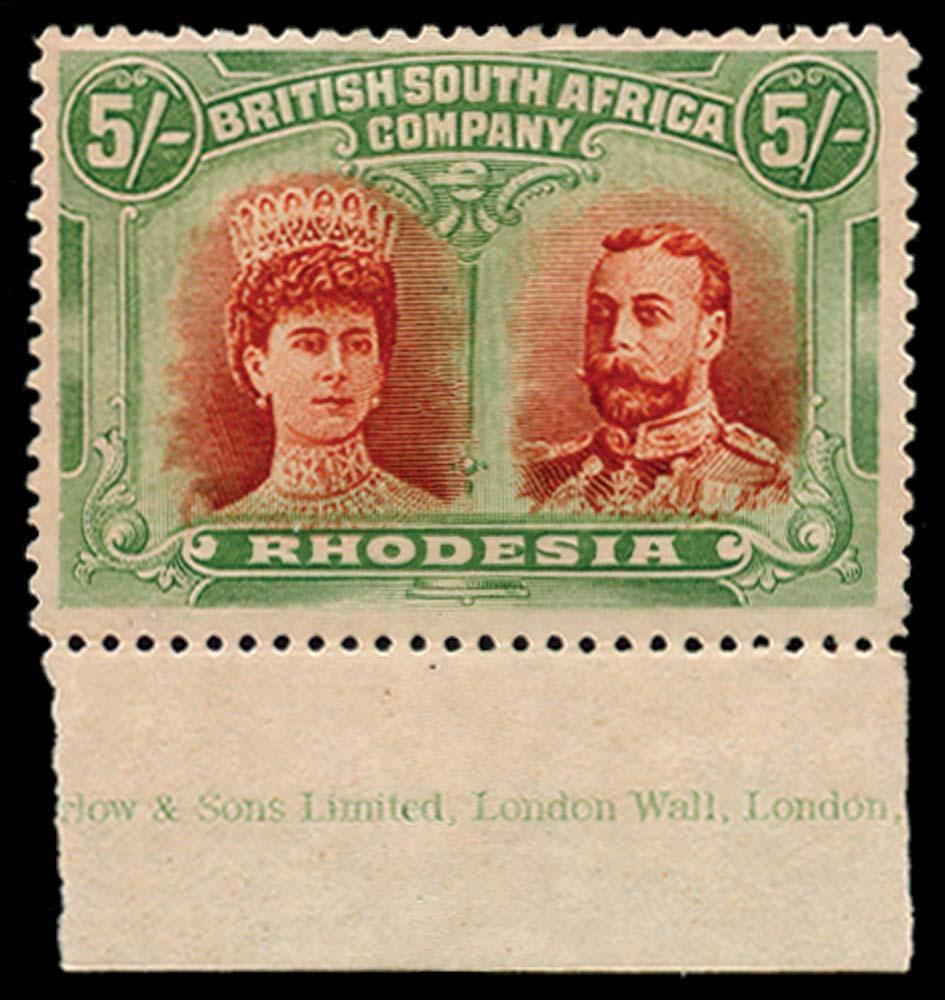 RHODESIA 1910  SG159 Mint