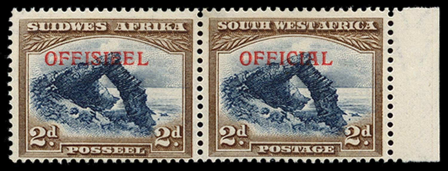 SOUTH WEST AFRICA 1945  SGO21 Pl.0 Official