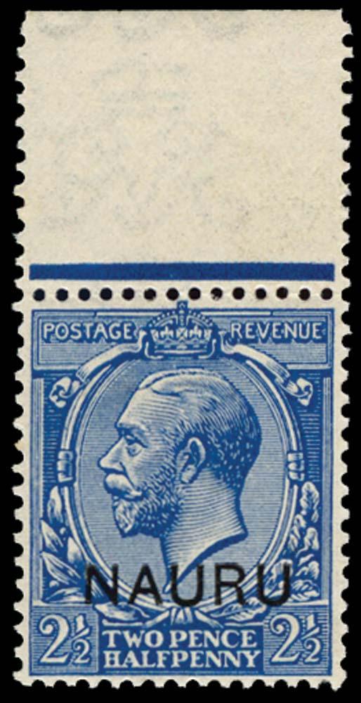 NAURU 1916  SG6b Mint