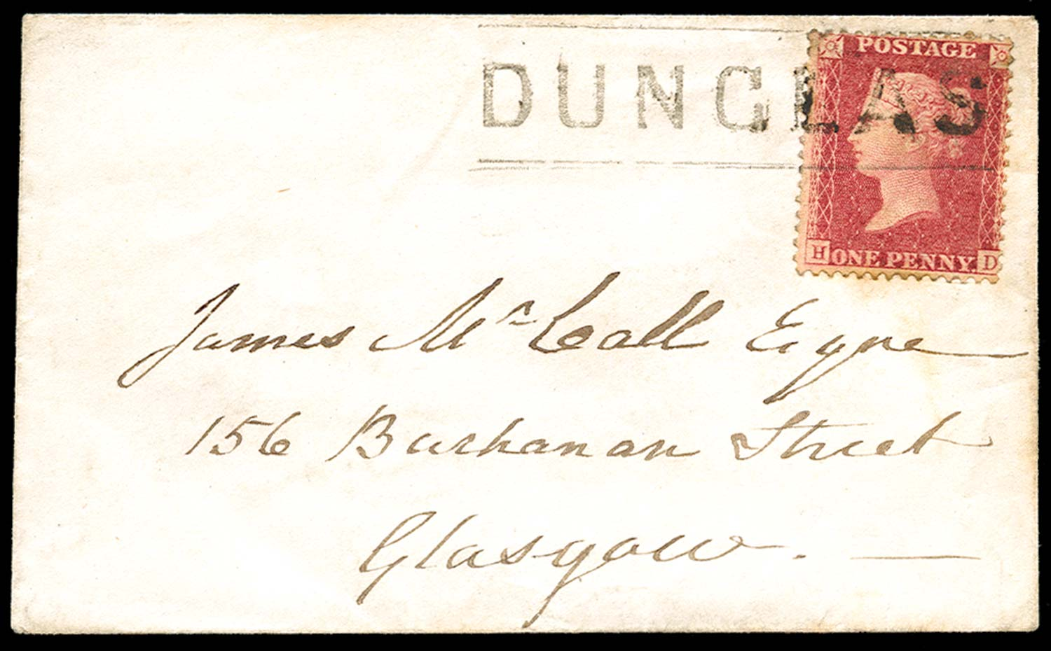 GB 1859  SG40 Pl.59 Cover