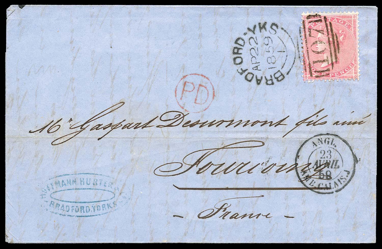 GB 1859  SG66a Cover
