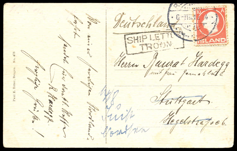 GB 1912  SG. Cover