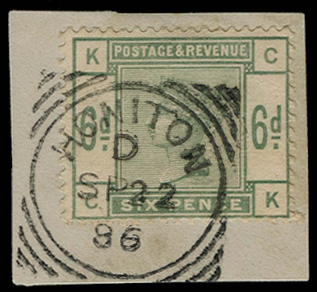 GB 1884  SG194 Used
