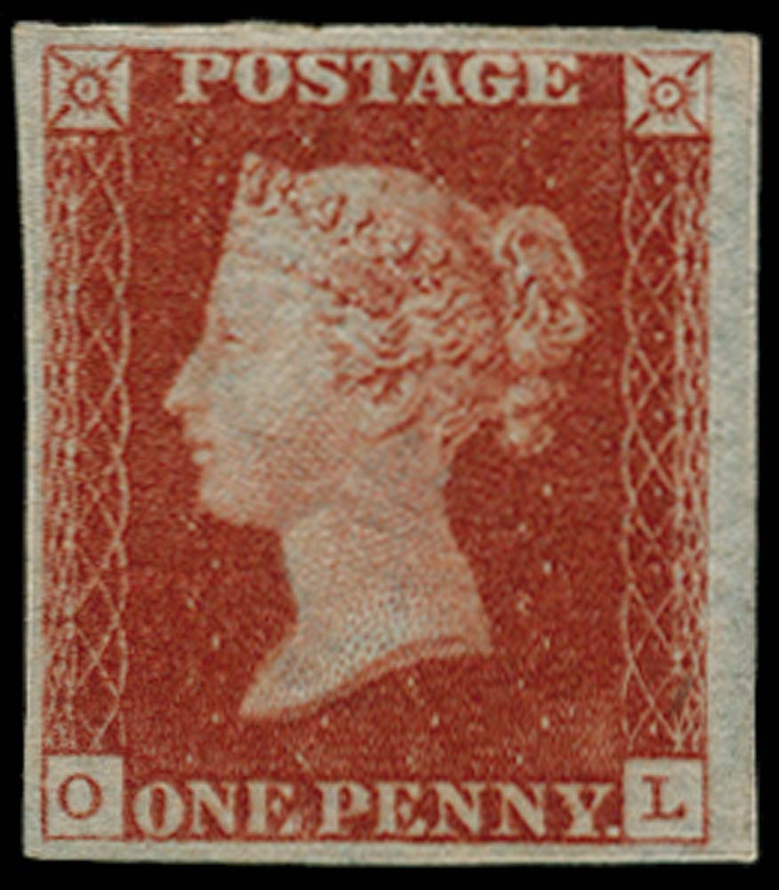GB 1841  SG7 Pl.8 Mint