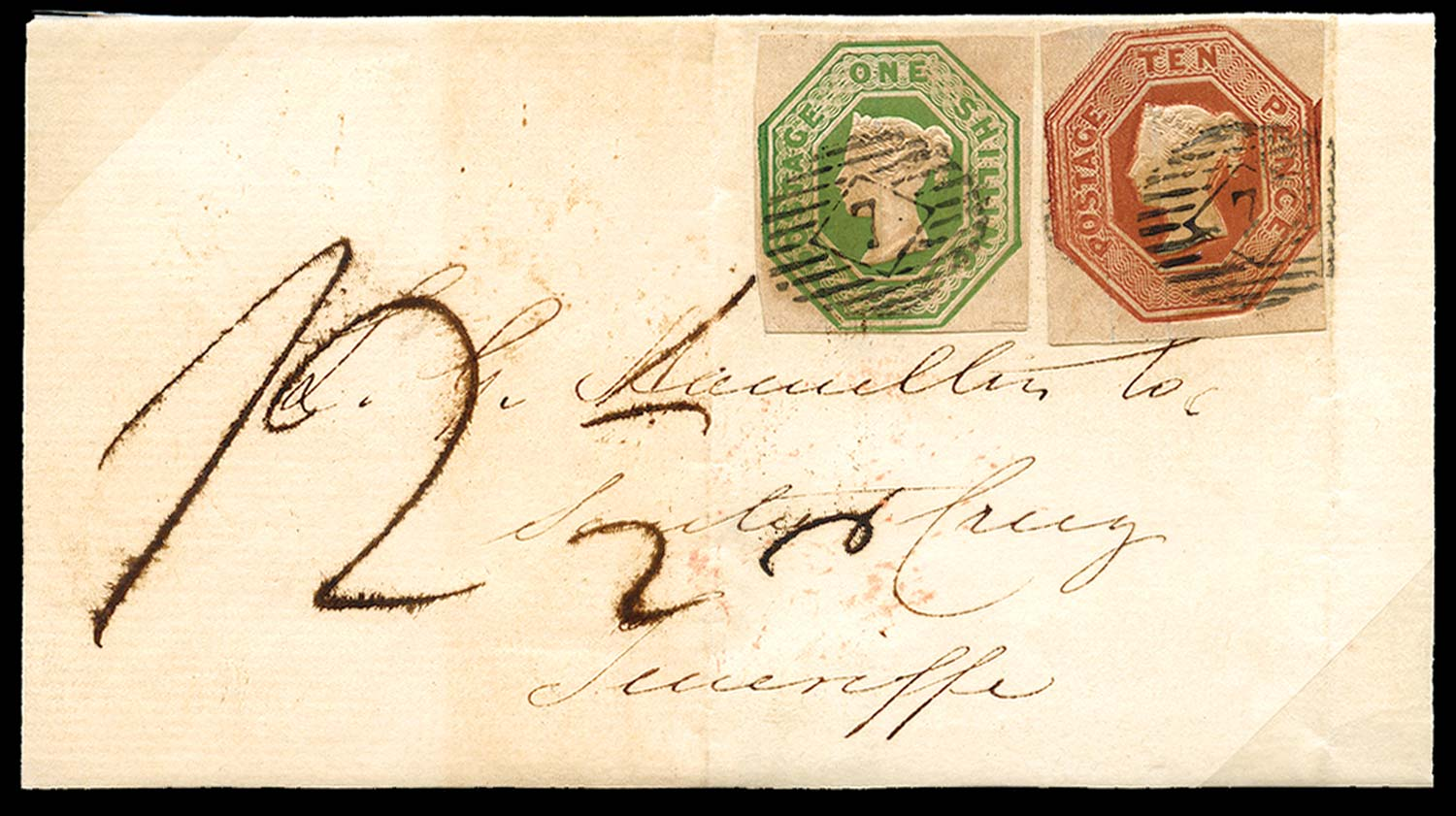 GB 1852  SG55, 57 Cover