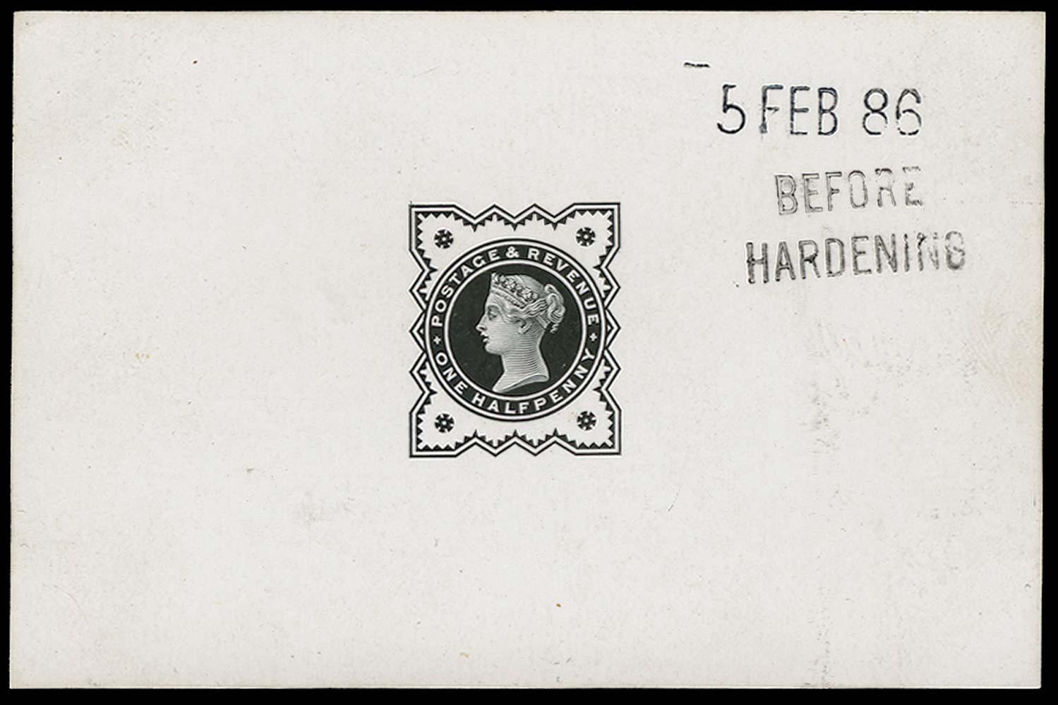 GB 1886  SG197var Proof