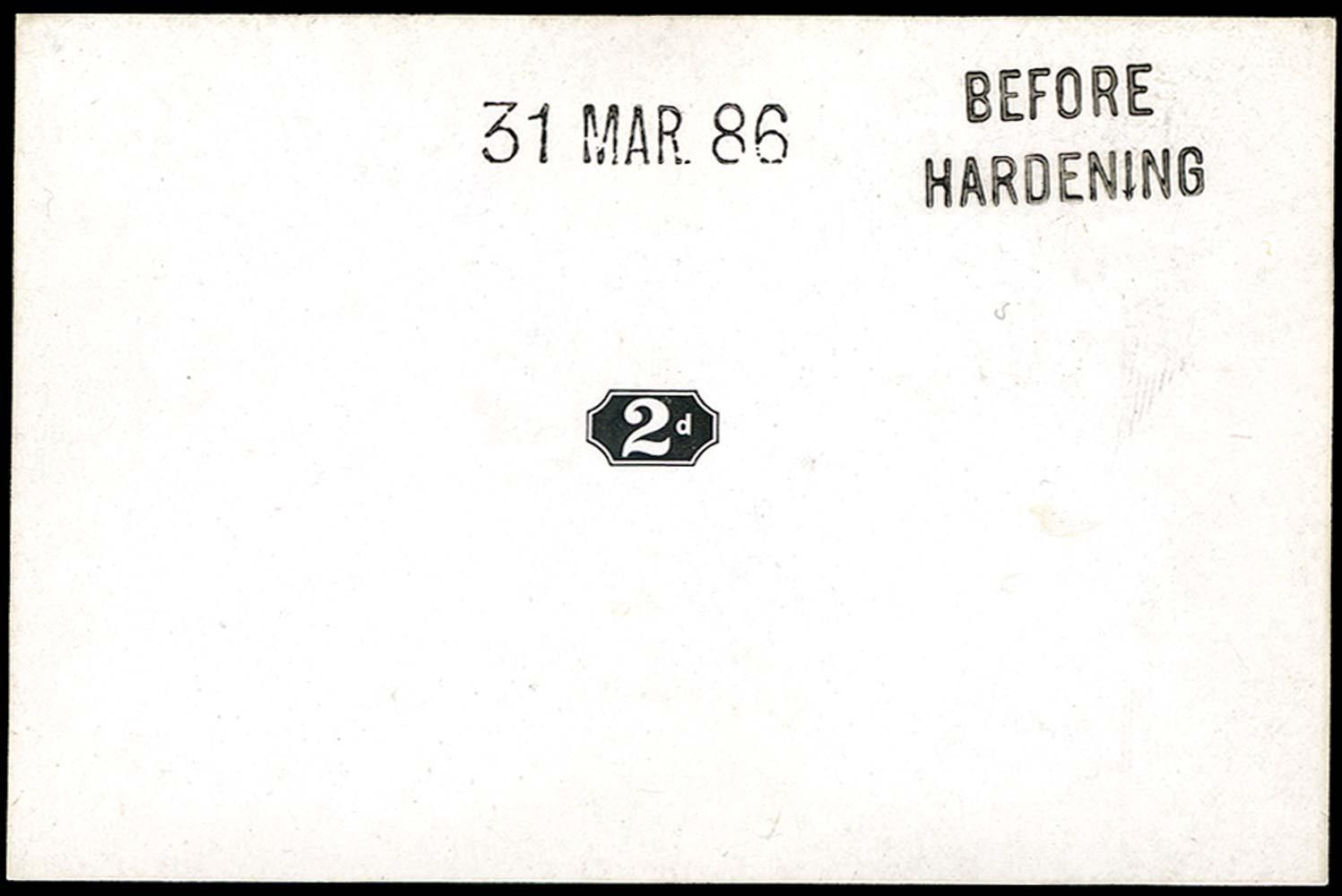 GB 1886  SG199var Proof