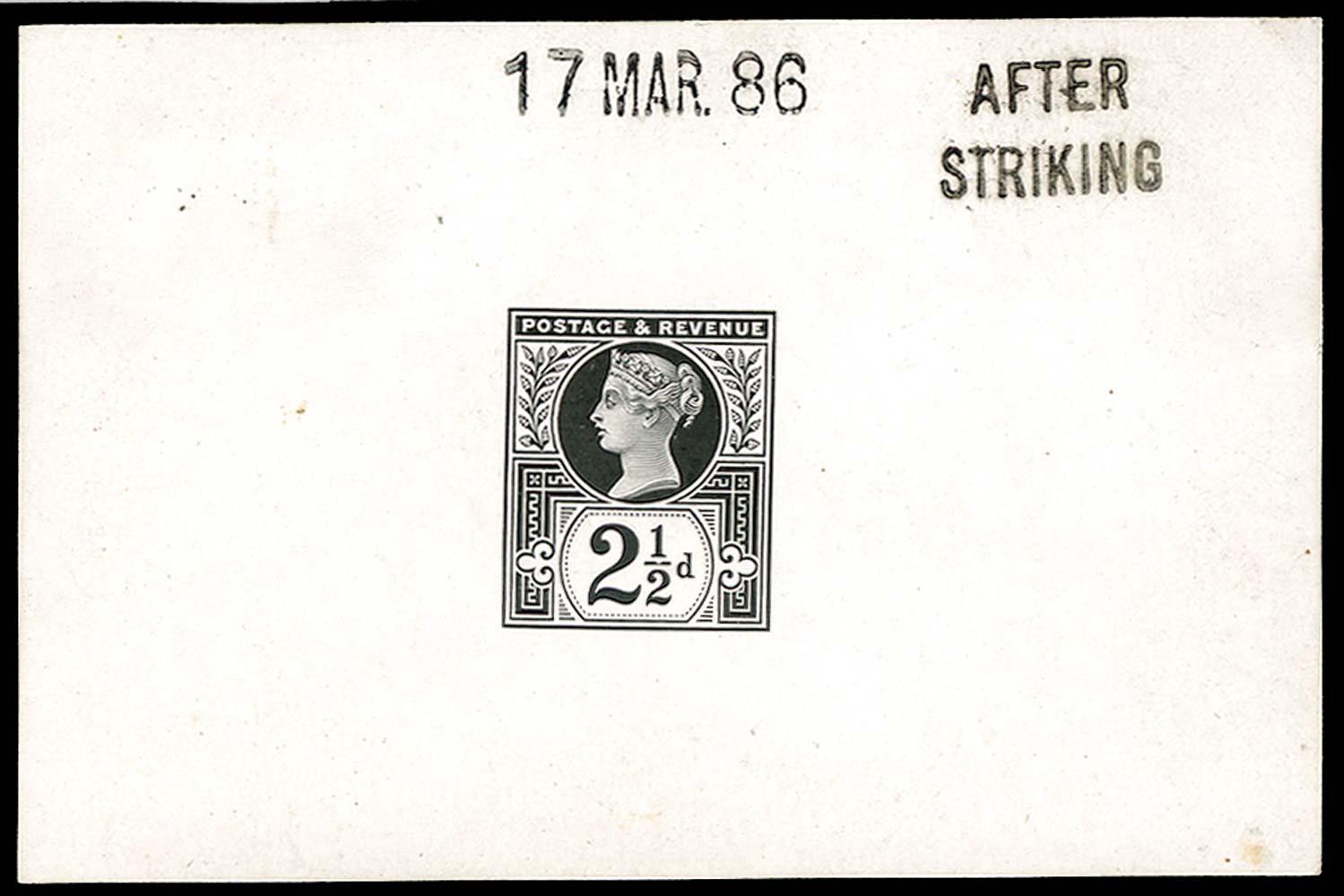 GB 1886  SG201var Proof