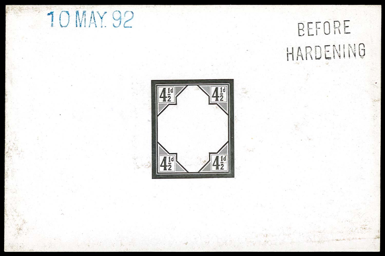 GB 1892  SG206var Proof