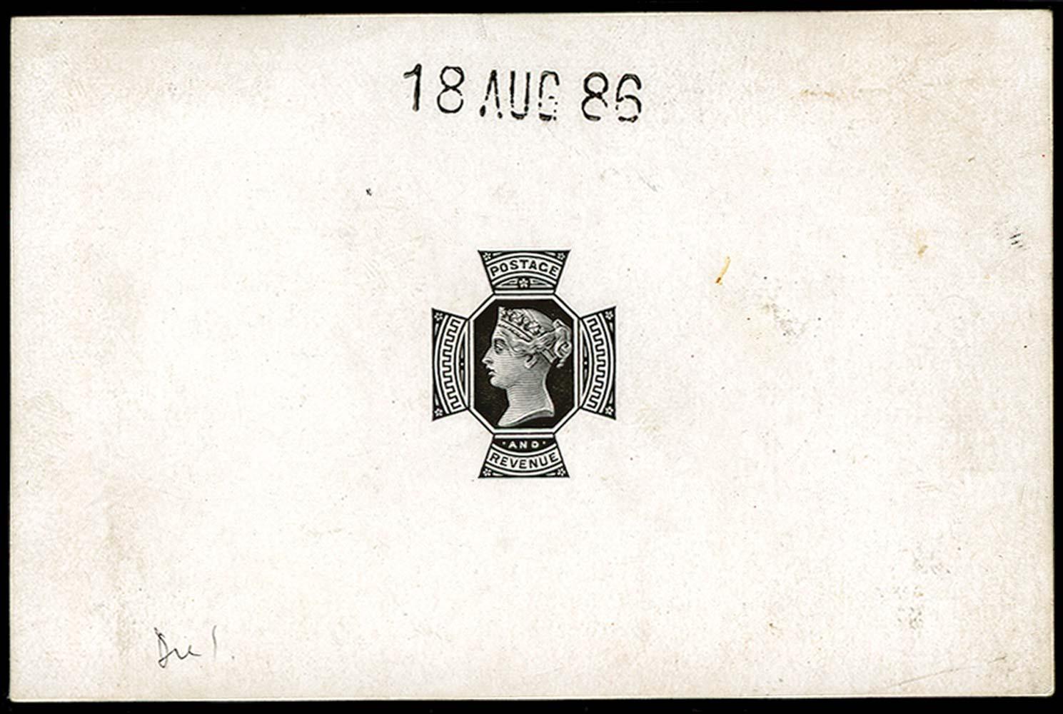 GB 1886  SG209var Proof