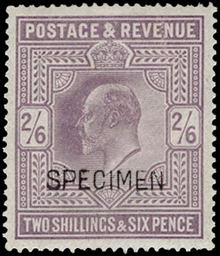 GB 1902  SG260var Mint