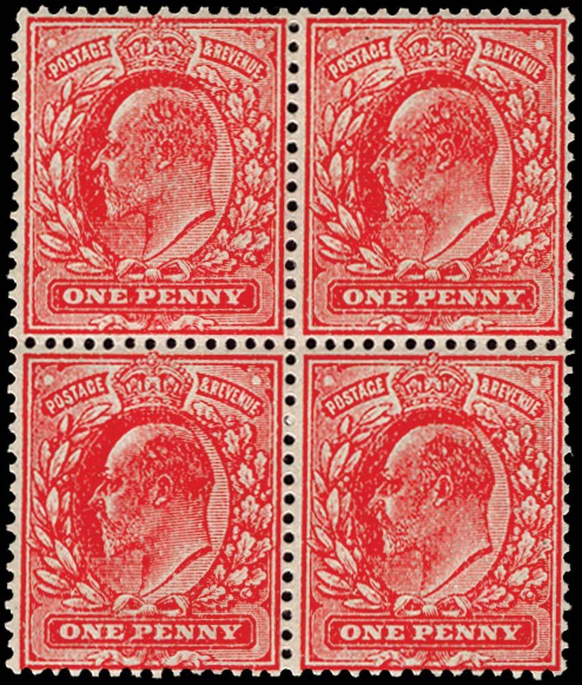 GB 1911  SG272var Mint