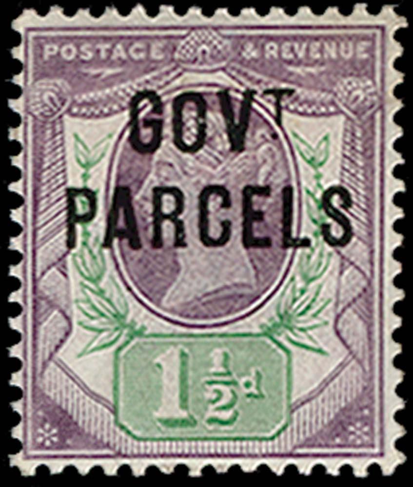 GB 1887  SGO65c Official