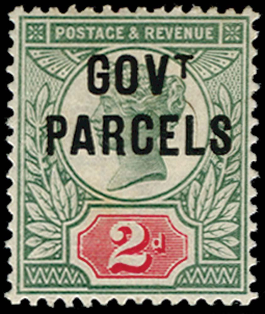 GB 1891  SGO70a Official