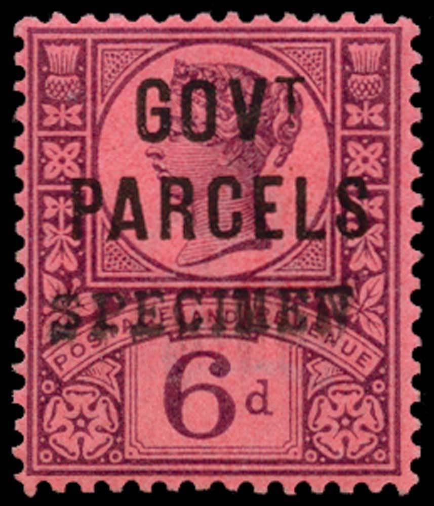 GB 1887  SGO66s Official