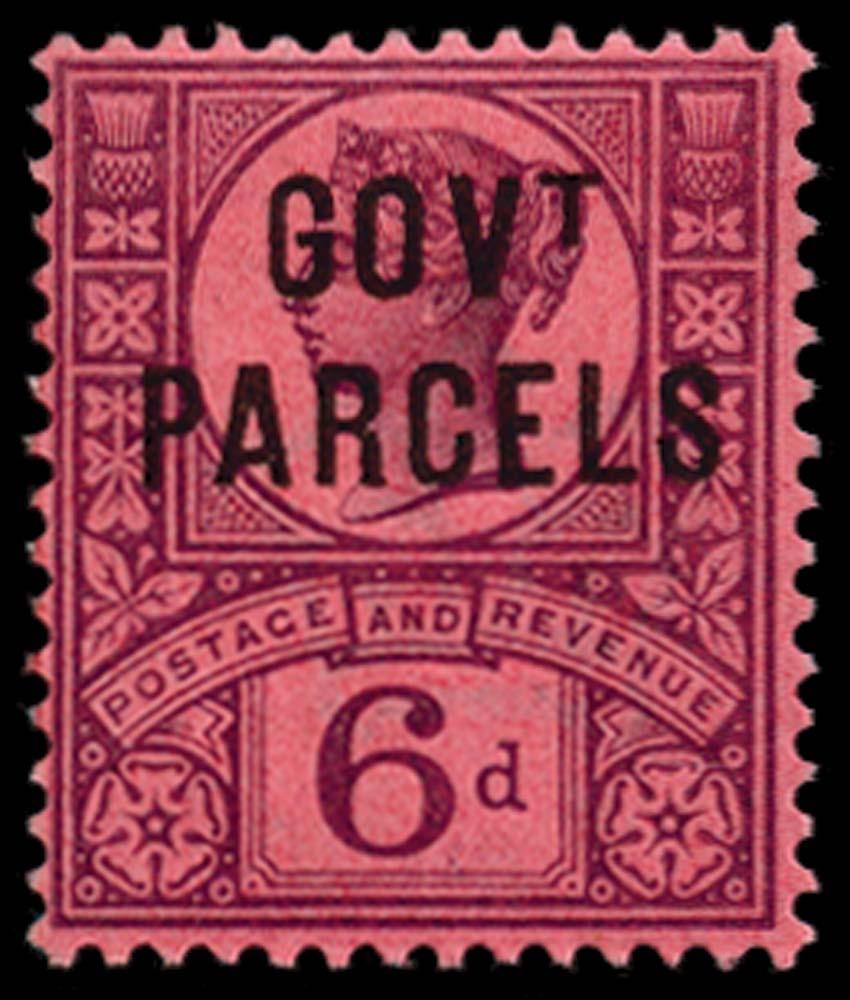 GB 1887  SGO66a Official
