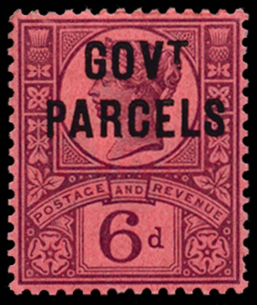 GB 1887  SGO66 Official