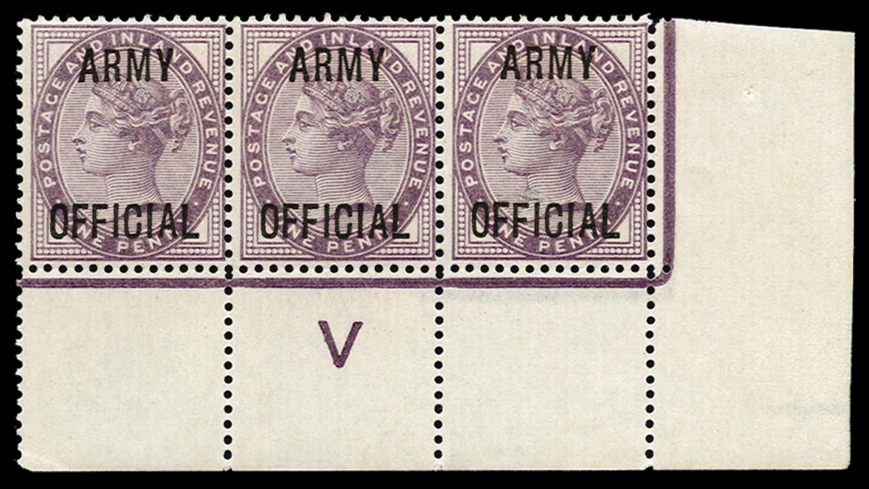 GB 1896  SGO43 Official