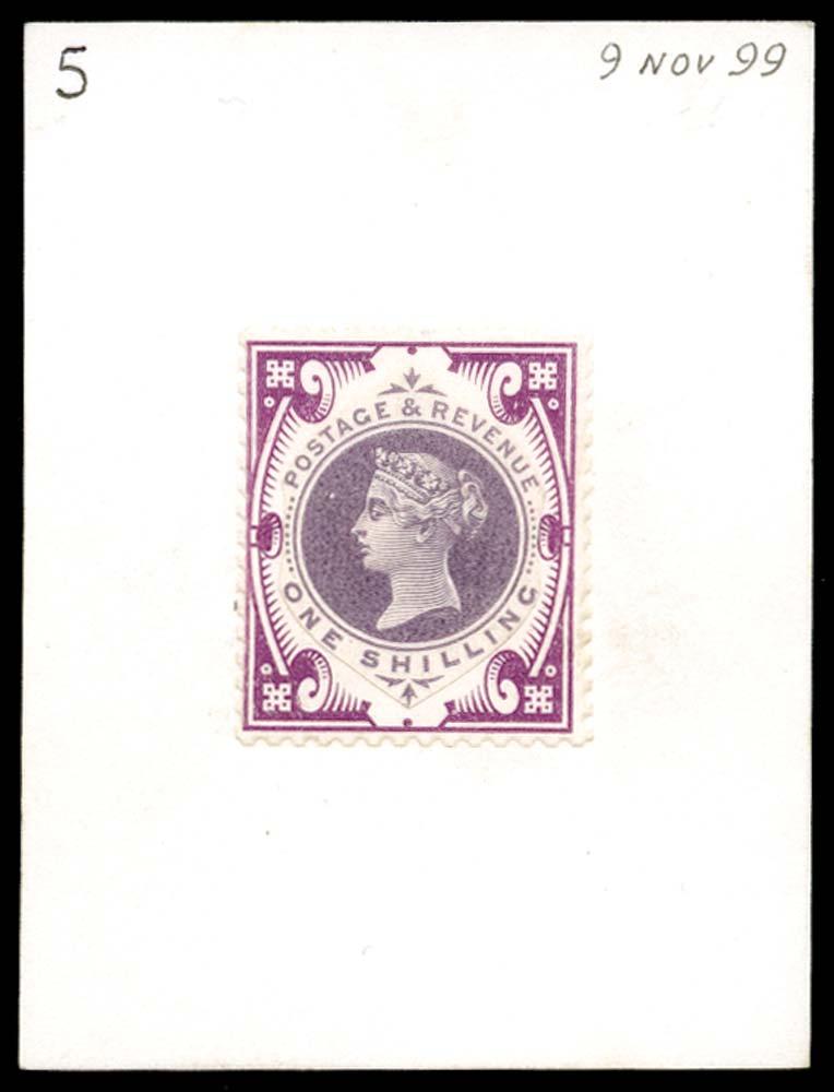 GB 1899  SG214var Mint